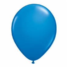 "Qualatex 11 inch Balloons - Dark Blue 11"" Balloons (Standard 25pcs)"